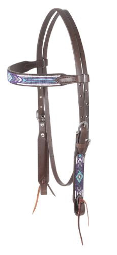 Cashel Beaded Browband Headstall