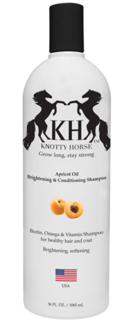 Knotty Horse Apricot Oil Brightening & Conditioning Shampoo - RM Tack & Apparel
