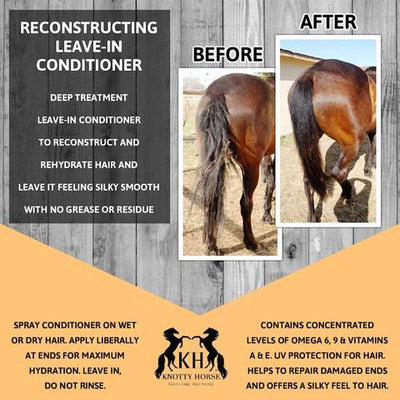 "Knotty Horse Apricot Oil ""Recon"" Reconstructing Conditioner - RM Tack & Apparel"