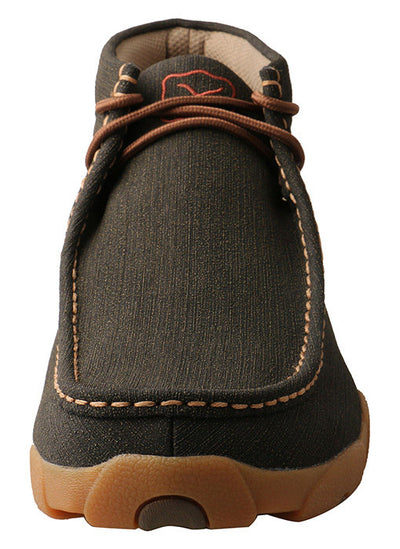 Twisted X Men's Rubberized Brown Driving Moc Shoe - RM Tack & Apparel