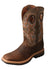 Twisted X Men's Taupe/Bomber Lite Cowboy Workboot