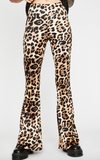 Wile Leopard Bell Bottom Pants - RM Tack & Apparel