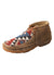 Twisted X Women's Bomber/Multi Pattern Driving Mocs