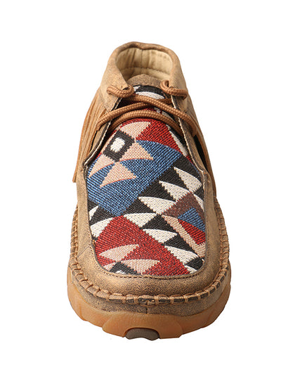 Twisted X Women's Bomber/Multi Pattern Driving Mocs - RM Tack & Apparel