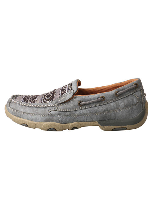 Twisted X Mens 4 Wedge Sole Casual Laced Eco TWX Moc Toe Shoes