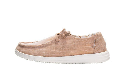 Hey Dude Women's Sparkling Rose Gold Wendy Shoes