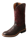 Twisted X Women's Top Hand Boot – Coffee/Burgundy - RM Tack & Apparel
