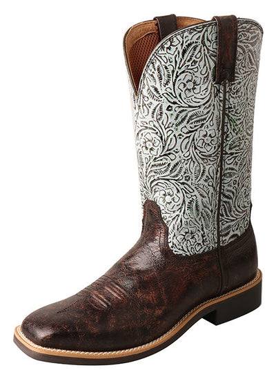 Twisted X Women's Top Hand Western Boots - Wide Square Toe - RM Tack & Apparel