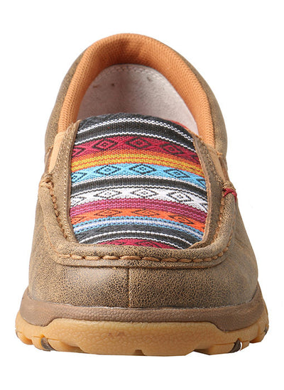 Twisted X Women's Multi Strpie Driving Moc with CellStretch® - RM Tack & Apparel