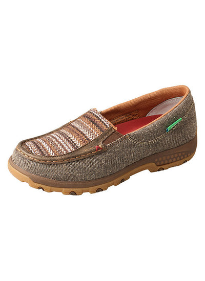 Twisted X Women's Slip-On Driving Moc with CellStretch® - RM Tack & Apparel