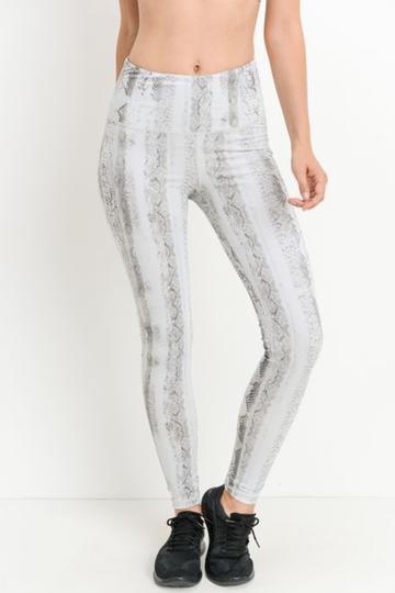 Reptile Print Highwaist Full Leggings - RM Tack & Apparel