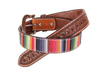 Twisted X Men's Serape & Tooled Belt