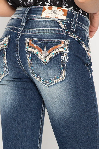 Miss Me Western Life Bootcut Jeans