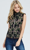 PLUS SIZE Camo Fleece Vest - RM Tack & Apparel