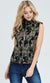 PLUS SIZE Camo Fleece Vest