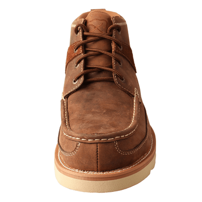 Twisted X Men's Brown 4″ Wedge Sole Boot Shoe - RM Tack & Apparel