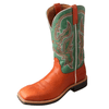 Twisted X Women's Teal Top Hand Boot - RM Tack & Apparel