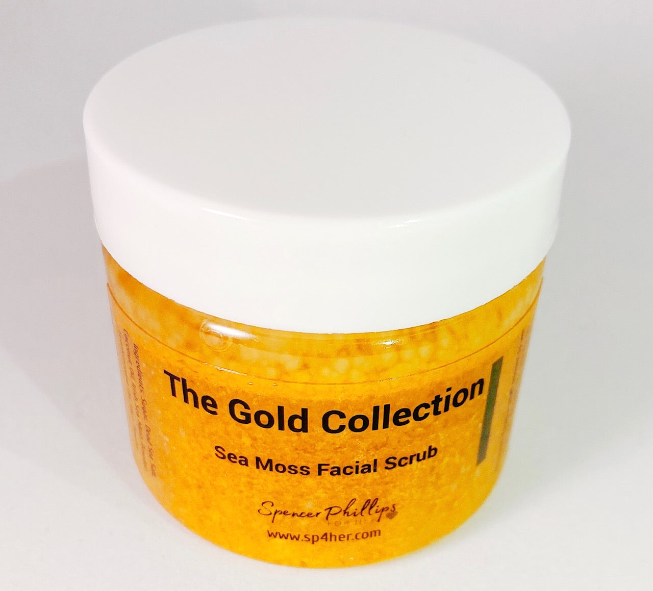 Golden Sea Moss Facial Scrub