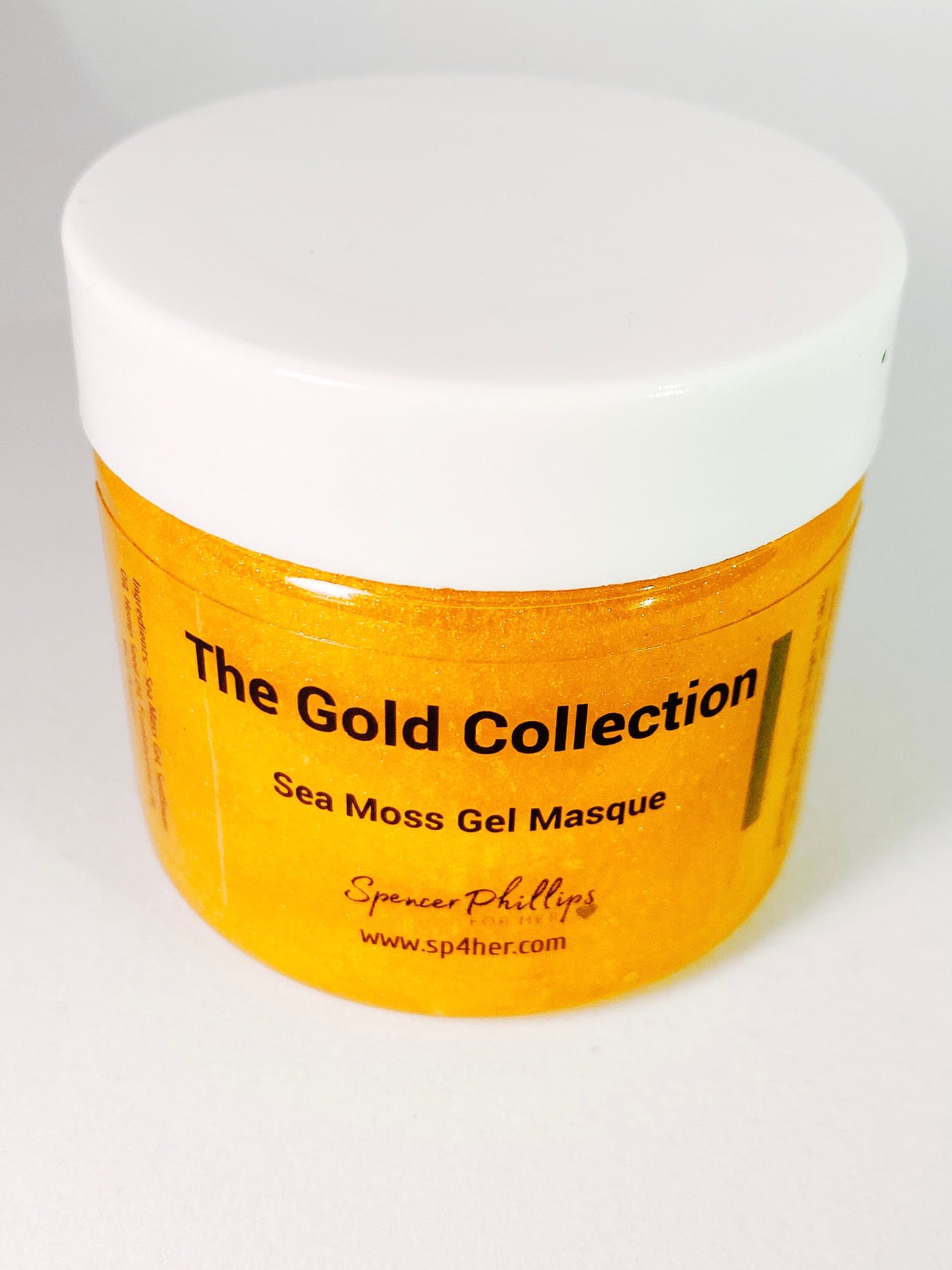 Golden Sea Moss Gel Masque