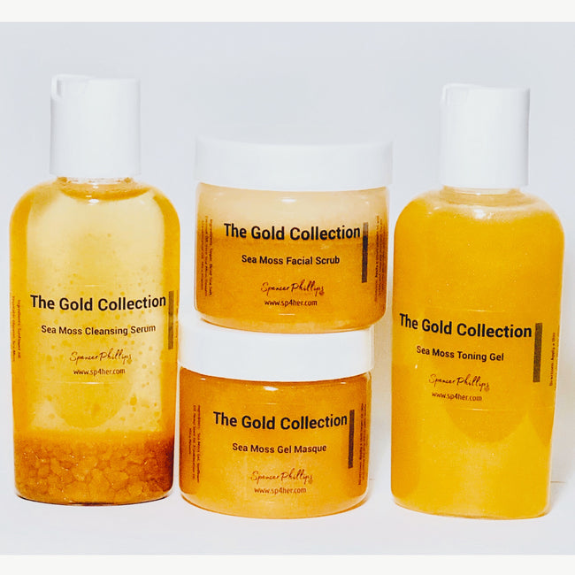 The Golden Sea Moss Collection (Sample Size)