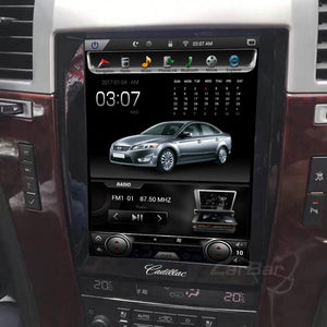 "[Open Box] Cadillac Escalade 2007 - 2014 10.4"" Vertical Screen Android Radio Tesla Style"