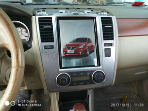 "Nissan Versa 2007 - 2012 10.4"" Vertical Screen Android Radio Tesla Style"