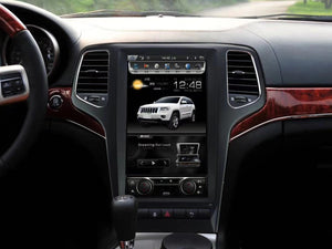 "[Open Box] Jeep Grand Cherokee 2011 - 2013 13.3"" Vertical Screen Android Radio"