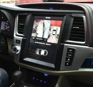 "Toyota Highlander 2014 - 2018  12.1"" Vertical Screen Android Radio Tesla Style"
