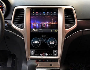 "Jeep Grand Cherokee 2011-2019 13.6"" Vertical Screen Android Radio Tesla Style"