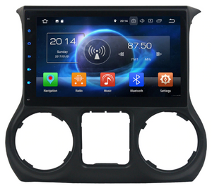 "10.2"" Android Radio GPS Android 9.0 for Jeep Wrangler 4G 32G Octa Core"