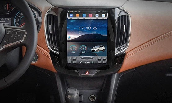 "Tesla Style Chevrolet Cruze 2016 - 2018 10.4"" Vertical Screen Android Radio - Rhino Radios"