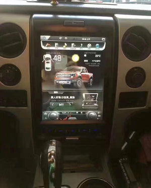 "[Open Box] Ford F-150 2009 - 2014 12.1"" Vertical Screen Android Radio"
