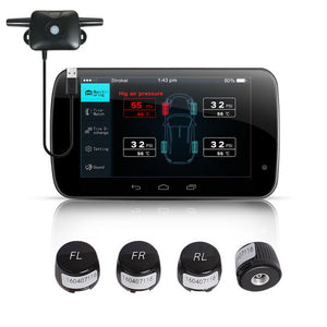 USB TPMS Android Wireless Tire Pressure Monitoring System