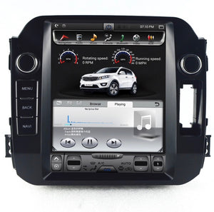 "Kia Sportage 10.4""  Vertical Screen Android Radio Tesla Style"