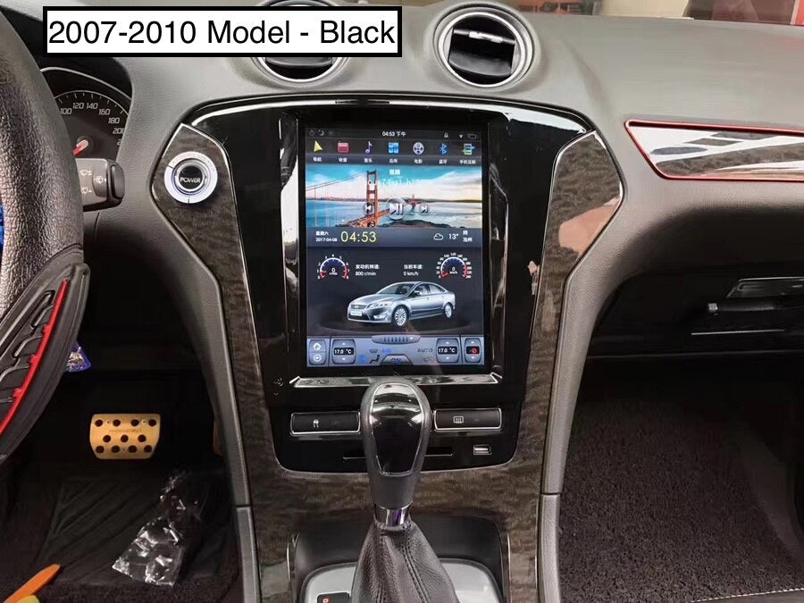 "Ford Mondeo 2007 - 2012 10.4"" Vertical Screen Android Radio Tesla Style"
