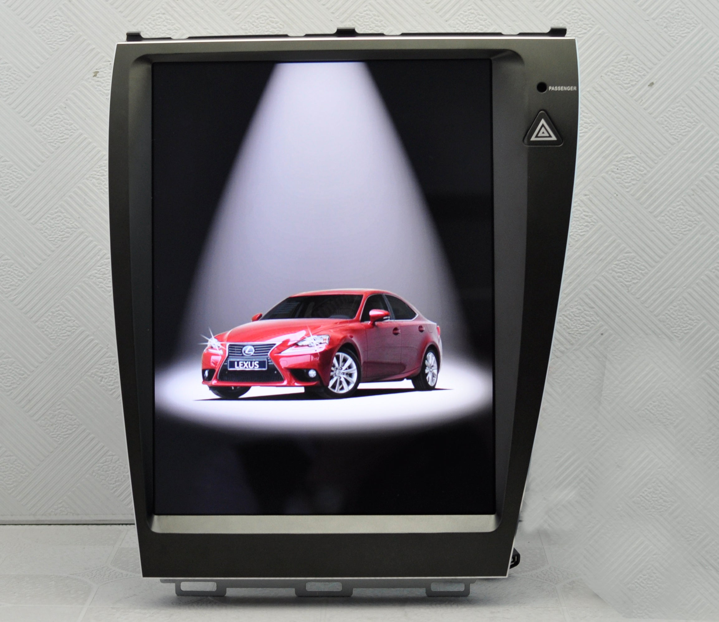 "Lexus ES 2007-2012 12.1"" Vertical Screen Android Radio with Aluminum Alloy Bezel Tesla Style"