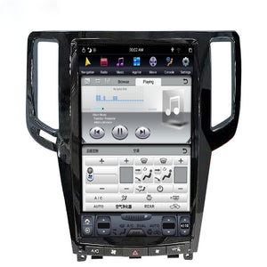 "Infiniti G25 G35 G37 2007 - 2013  13.6"" Vertical Screen Android Radio Tesla Style with 2K Resolution"