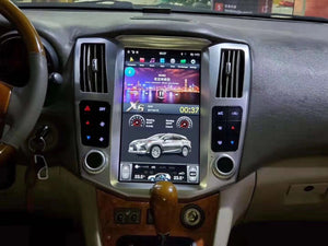 "Lexus RX 2004-2009  11.8"" Vertical Screen Android Radio with 2K Resolution Tesla Style"