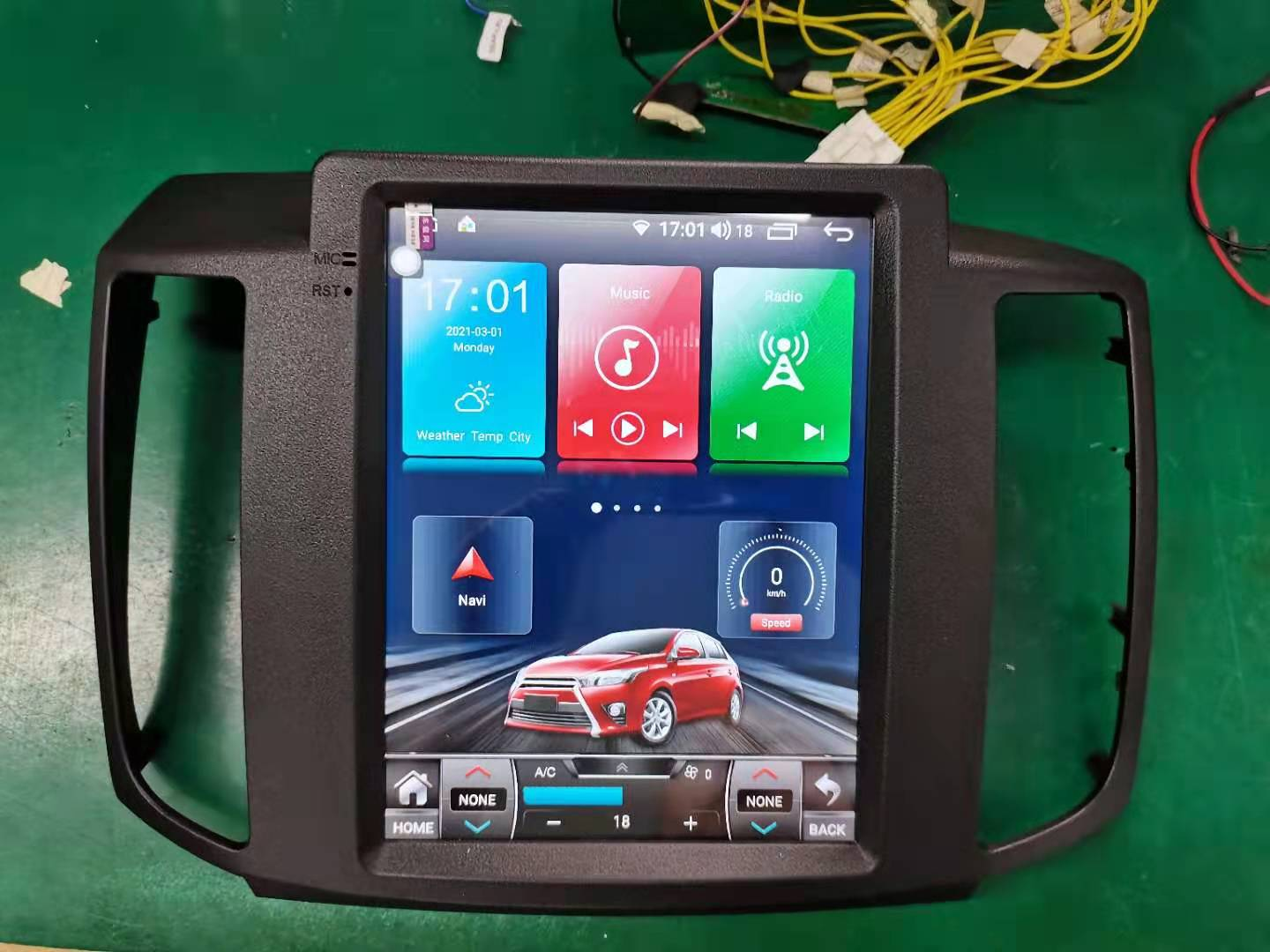 "Nissan Maxima 2009 - 2015 10.4"" Vertical Screen Android Radio Tesla Style"