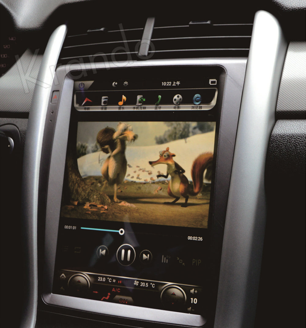 """Ford Edge 2011 - 2014 12.1"""" Vertical Screen Android Radio ..."""