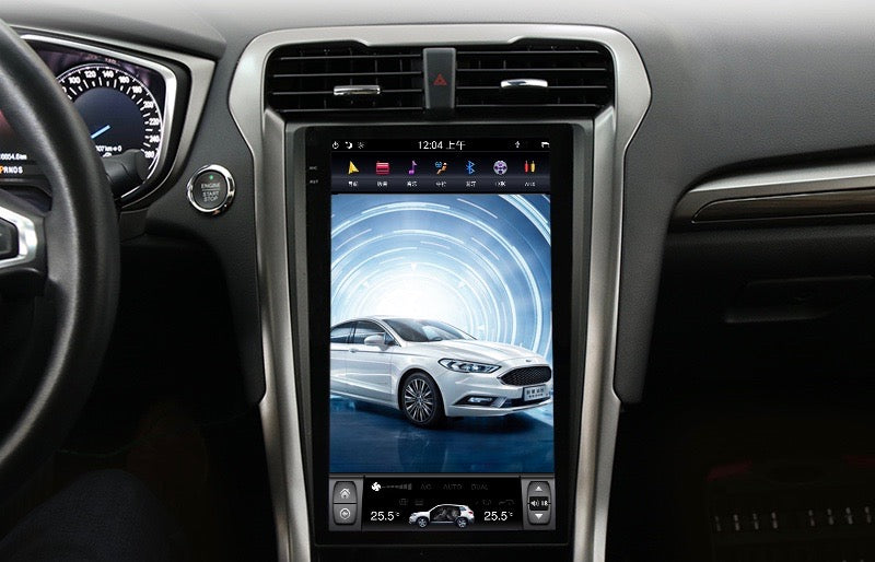 "Ford Fusion Mondeo 2017 - 2018 13.6"" Vertical Screen ..."