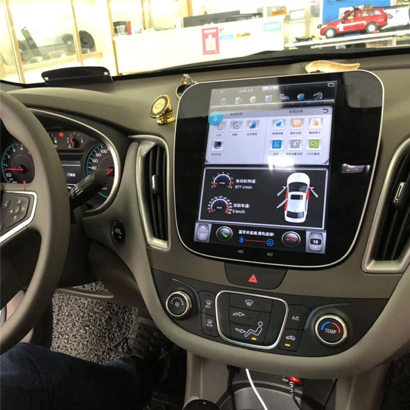 "[Open Box] Chevrolet Malibu 2016 - 2018 10.4"" Vertical Screen Android Radio Tesla Style"