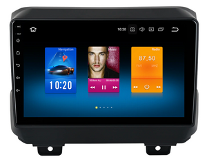 "9"" Android Radio GPS Android 9.0 for Jeep Wrangler 2018+ 4G 32G Octa Core"