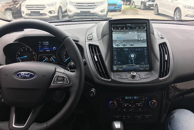 "Ford Escape Kuga 2013 - 2017 10.4"" Vertical Screen Android Radio Tesla Style"