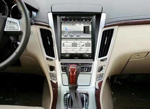 "[Open Box] Cadillac CTS 2008 - 2013 10.4"" Vertical Screen Android Radio Tesla Style"