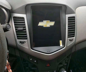 "Chevrolet Cruze 2009 - 2016 10"" Vertical Screen Android Radio Tesla Style"