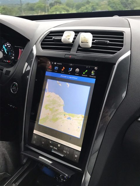 """2011 Ford Explorer For Sale >> Ford Explorer 2011 - 2018 12.1"""" Vertical Screen Android Radio Tesla St – Rhino Radios"""