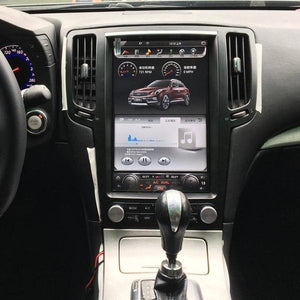 "[Open Box] Infiniti G25 G35 G37 Q40 Q60 2007 - 2015 12.1"" Vertical Screen Android Radio Tesla Style"