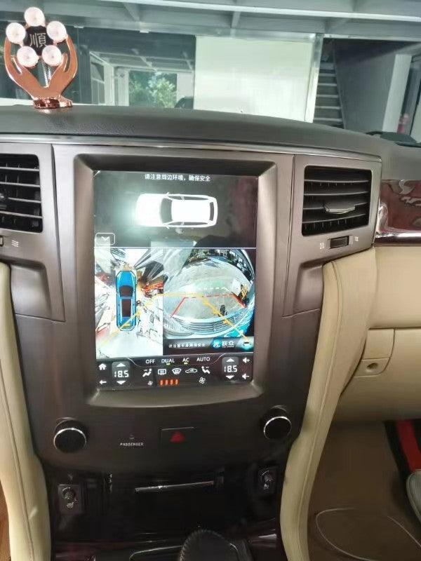 "Lexus LX 570 2007 - 2015 10.4"" with DSP Vertical Screen Android Radio Tesla Style"