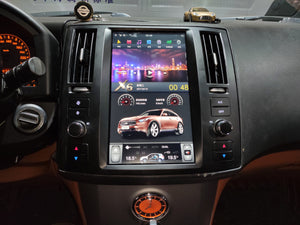 "[Open Box] Infiniti FX35 2006 - 2008 11.8"" Vertical Screen Android Radio Tesla Style"